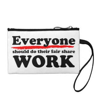 Everyone Work 2 Coin Purse