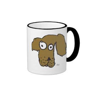 Everyone's Brown Dog Cup Ringer Coffee Mug