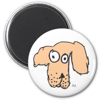 Everyone's dog 2 inch round magnet