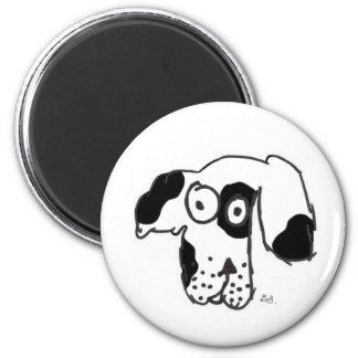 Everyone's dog patch 2 inch round magnet