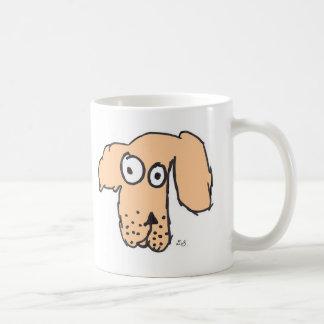 Everyone's orange dog classic white coffee mug