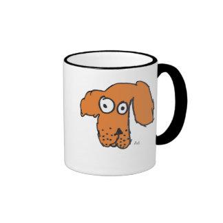 Everyone's Orange Dog Ringer Coffee Mug