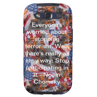 Everyone's worried about stopping terrorism... galaxy SIII cover