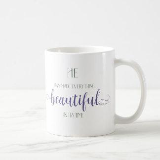 Everything Beautiful - Ecc 3:11 Coffee Mug