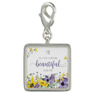 Everything Beautiful - Ecc 3:11 Photo Charms