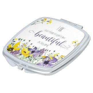 Everything Beautiful - Ecc 3:11 Vanity Mirror