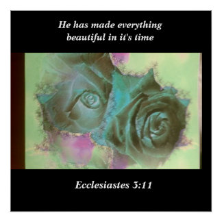 Everything beautiful in it's time poster