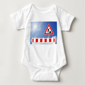 Everything becomes property sign with sky baby bodysuit