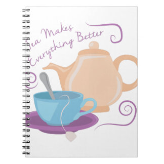 Everything Better Spiral Note Book
