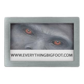Everything Bigfoot Belt Buckle