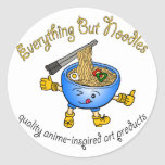 Everything But Noodles Stickers