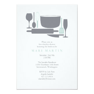 Everything But the Sink Bridal Shower Invitation
