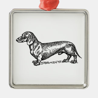 Everything Dachshund Metal Ornament