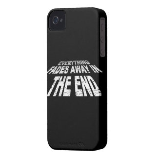 Everything fades away in the end iPhone 4 cases