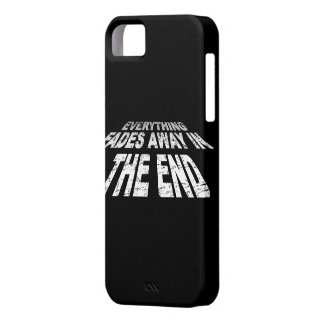 Everything fades away in the end iPhone SE/5/5s case