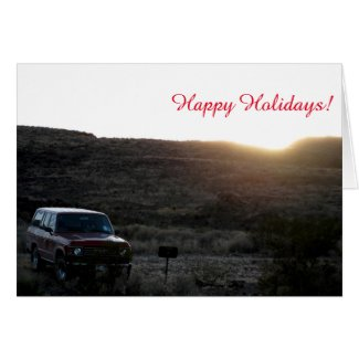 Everything FJ60 Holiday Card