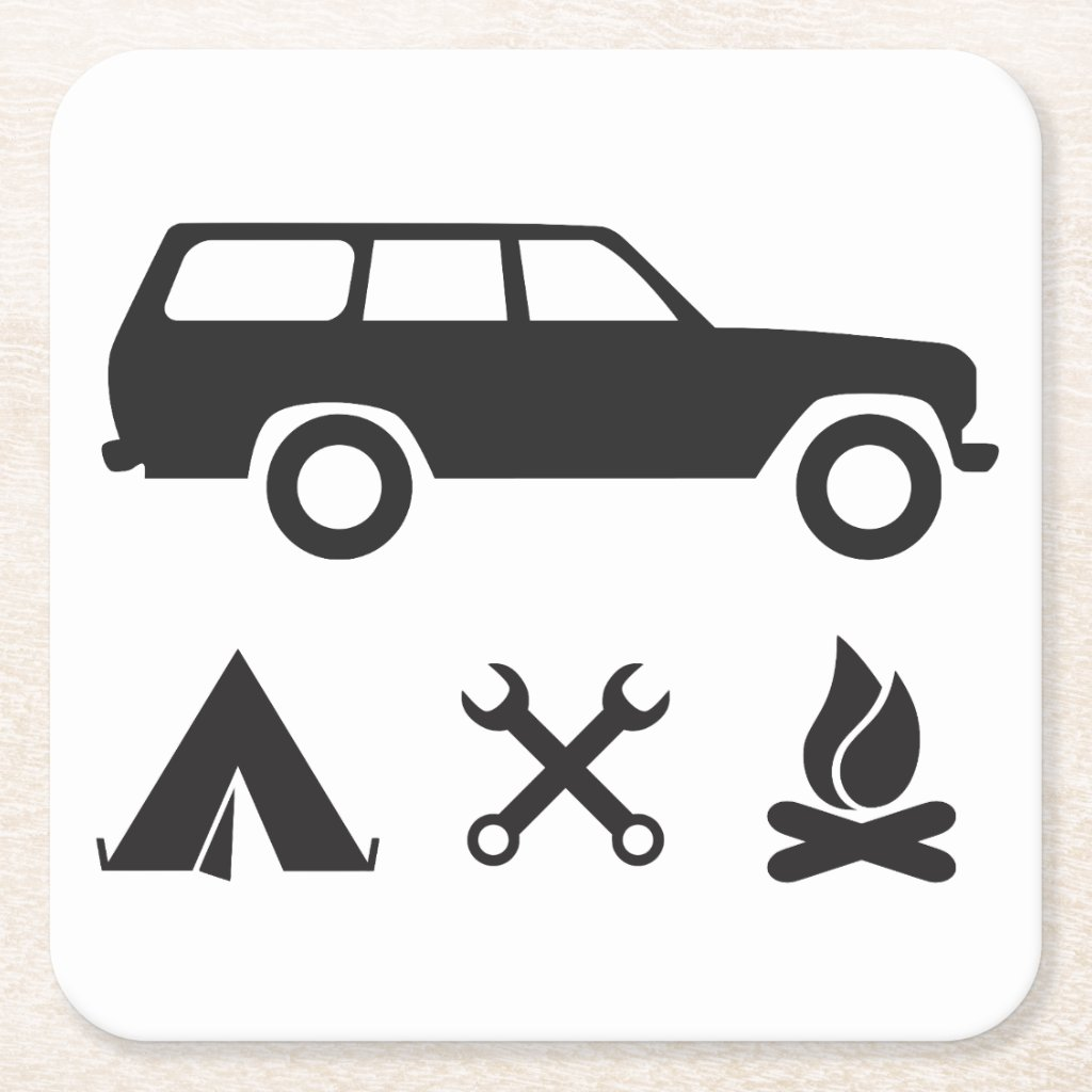 Everything FJ60 Icon Coaster