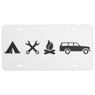 Everything FJ60 Icon License Plate