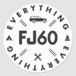 Everything FJ60 Sticker Stickers