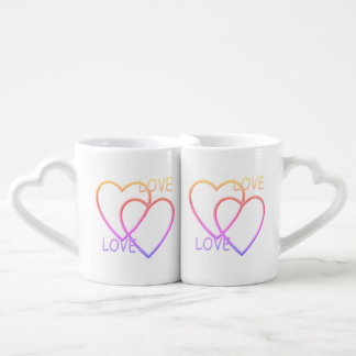 Everything for your love. coffee mug set