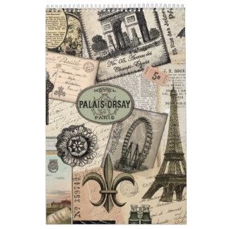Everything French calendar