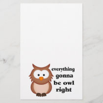 Everything Gonna Be Owl Right