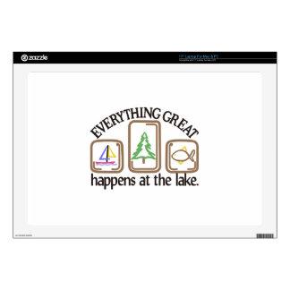 """Everything Great 17"""" Laptop Skins"""