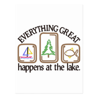 Everything Great Postcard