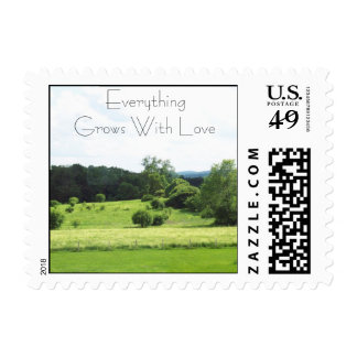 Everything Grows With Love Postage