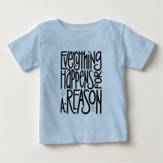 Everything Happens black Toddler T-shirt