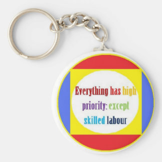Everything has high priority: keychain