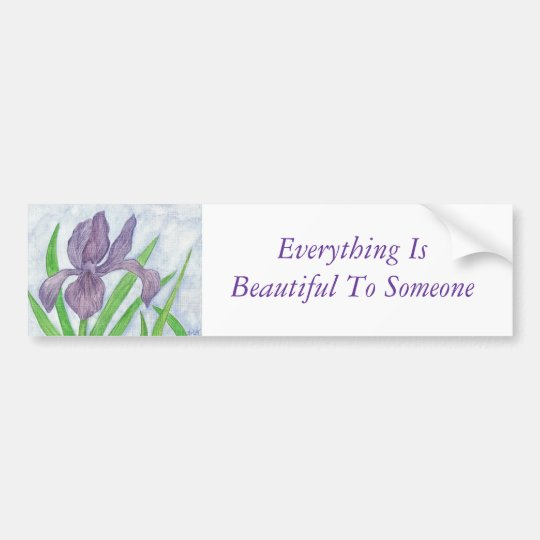 Everything is Beautiful Bumper Sticker