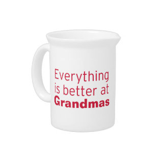 Everything is better at Grandma's Pitcher
