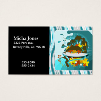 Everything Is Better At The Beach Business Card