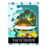 """Everything Is Better At The Beach 5"""" X 7"""" Invitation Card"""