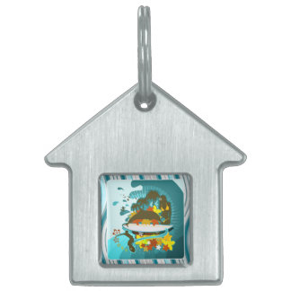 Everything Is Better At The Beach Pet ID Tag