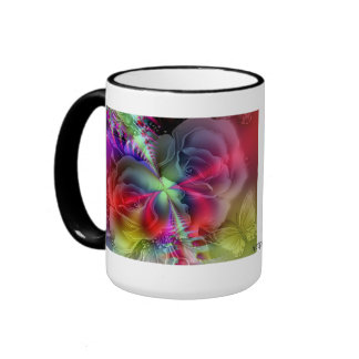 Everything is coming up Roses Ringer Coffee Mug