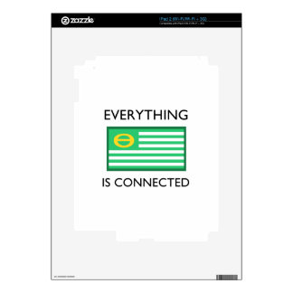 Everything Is Connected Skins For iPad 2