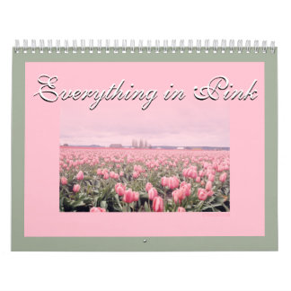 Everything is in Pink 2018 Calendar