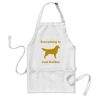 Everything Is Just Golden Adult Apron