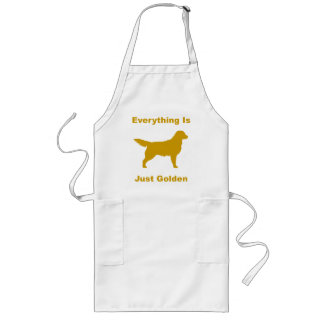Everything Is Just Golden Long Apron