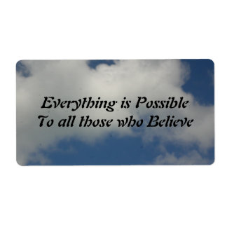 Everything is Possible Label