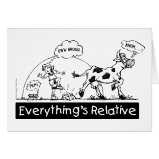 Everything is Relative Card