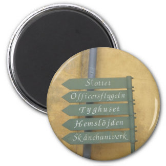 Everything is That Way at the Citadel 2 Inch Round Magnet
