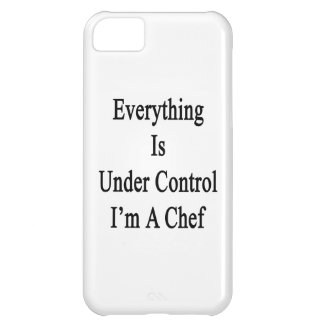 Everything Is Under Control I'm A Chef iPhone 5C Covers