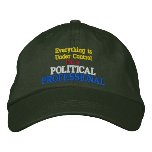 Everything is Under Control Political Professional Embroidered Baseball Hat