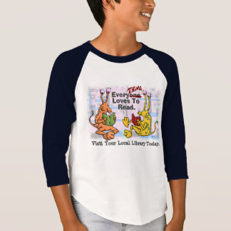 EveryTHING Loves To Read T-Shirt
