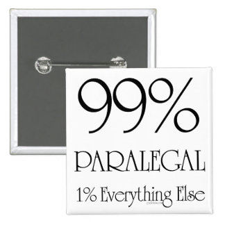Everything Paralegal 2 Inch Square Button