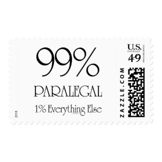 Everything Paralegal Postage Stamp