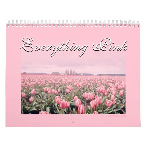 Everything Pink Calendar